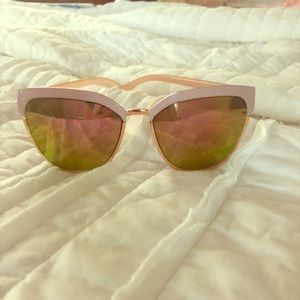 Pink and gold sunnies